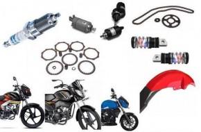 Dalys motociklams