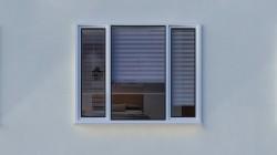Balti namų langai